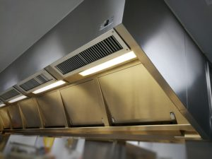 Extraction Hood Supply Air Return - Kitchen Ventilation Systems